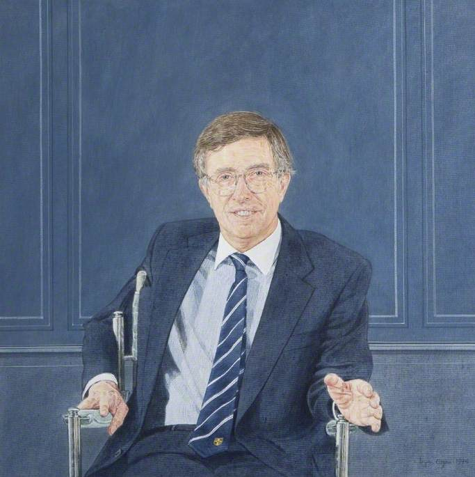 Sir David E. N. Davies (b.1935), Vice-Chancellor of Loughborough University (1988–1993)