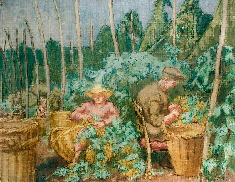 Hop-Pickers