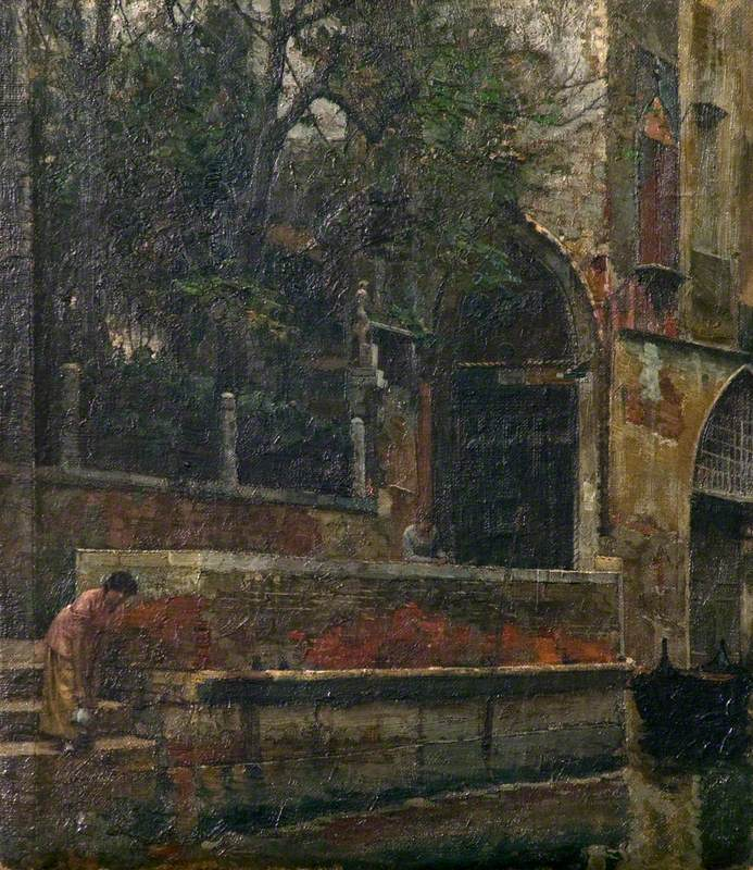 A Corner of Old Venice