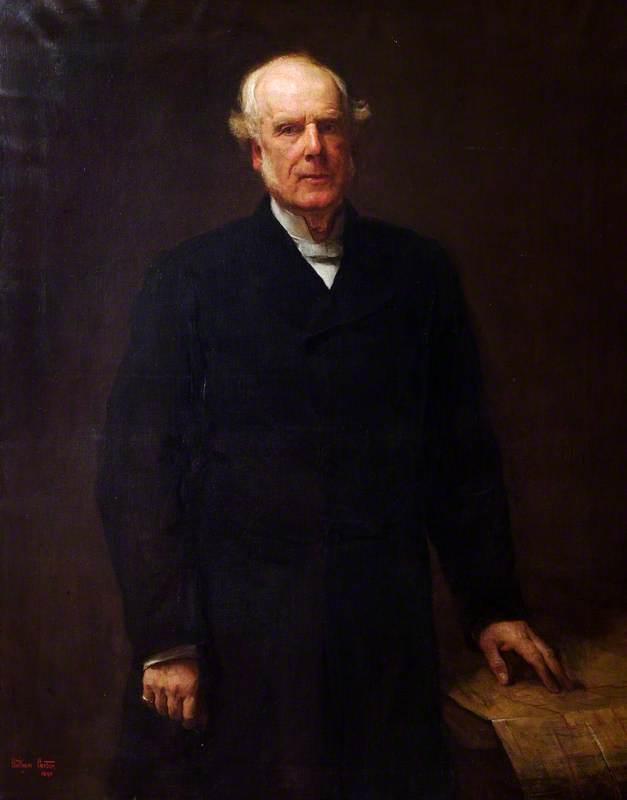 Reverend Canon Frederic Pretyman (1820–1905)