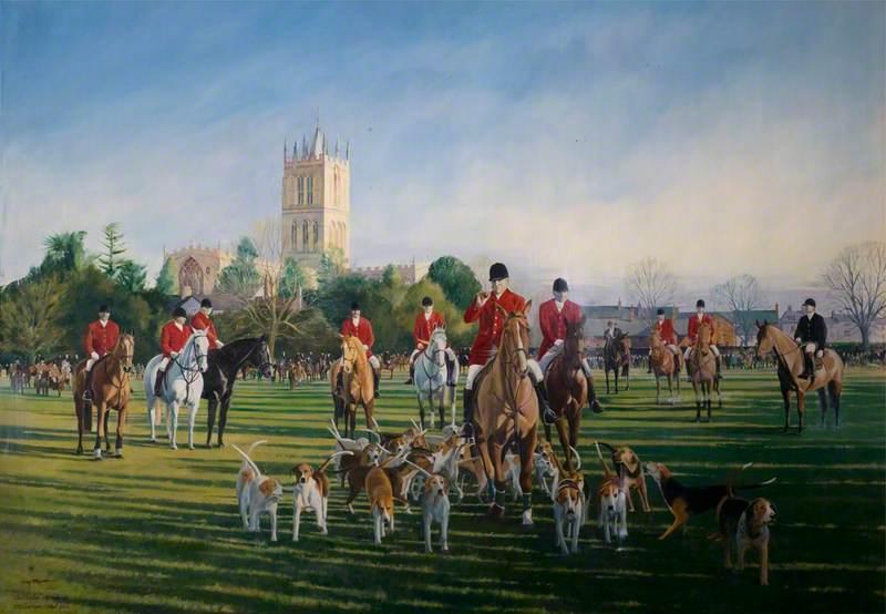 The Melton Mowbray Hunt Meet