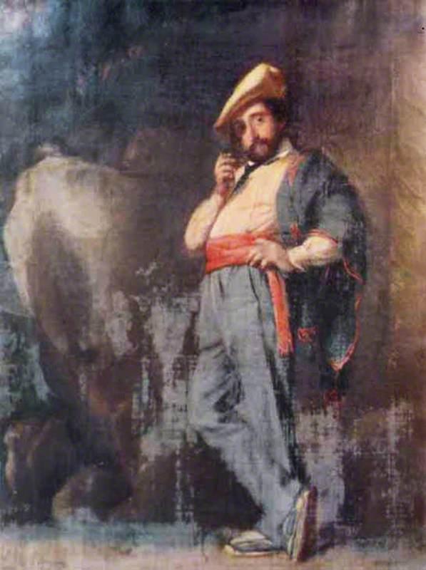 Spanish Peasant of the Basque Provinces