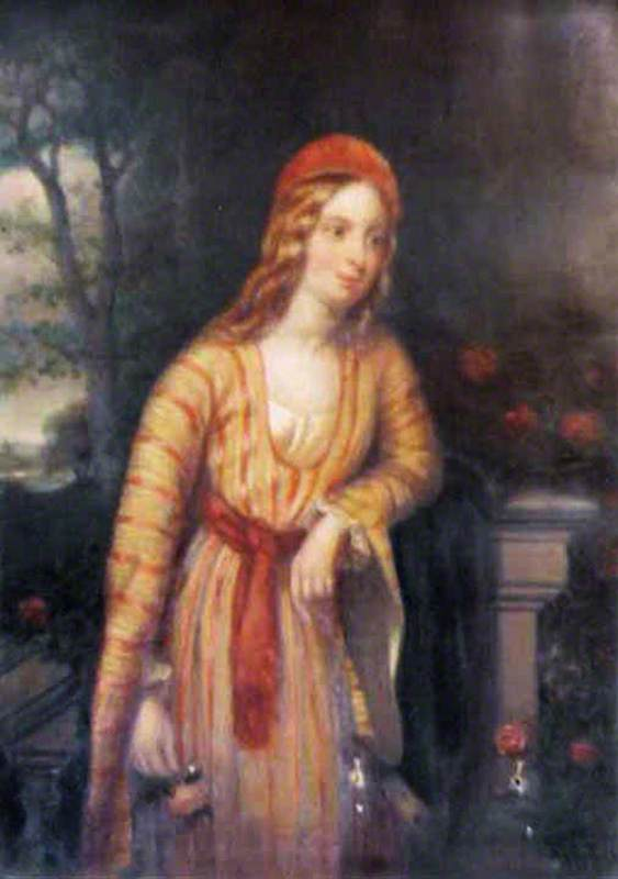 Portrait of an Unknown Female