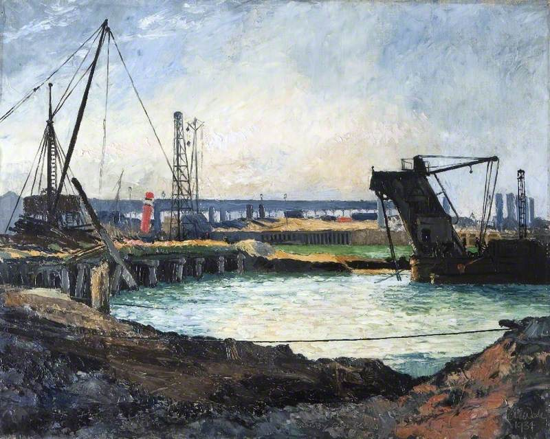 Last of Pie Jetty, Grimsby Fish Dock, Lincolnshire