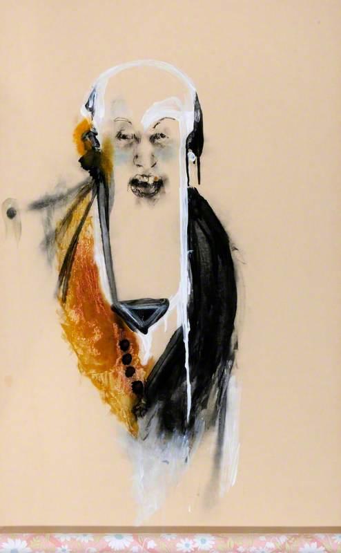 Man on Wallpaper 1
