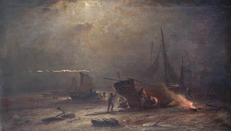 Night on the South Seas