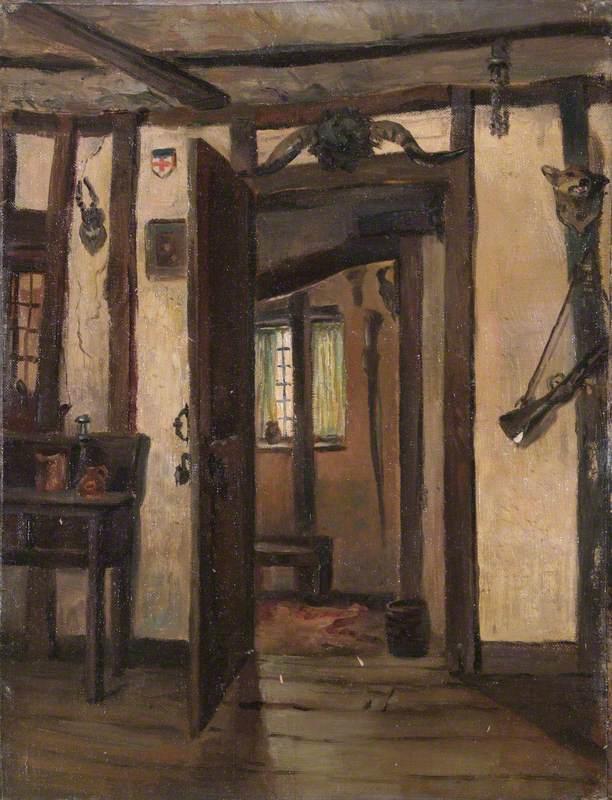'Chandos Arms', High Street, Edgware, Interior