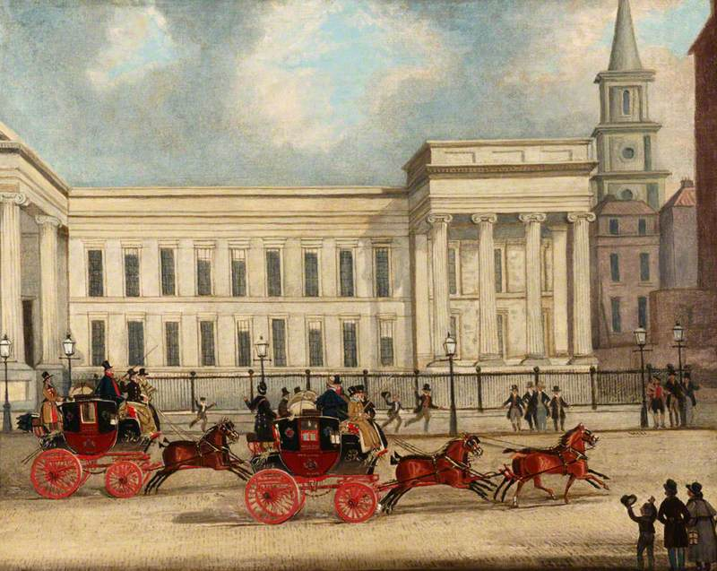 The Royal Mail's Departure from the General Post Office