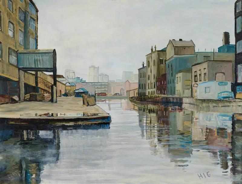 Wenlock Basin, Regent's Canal, 1973