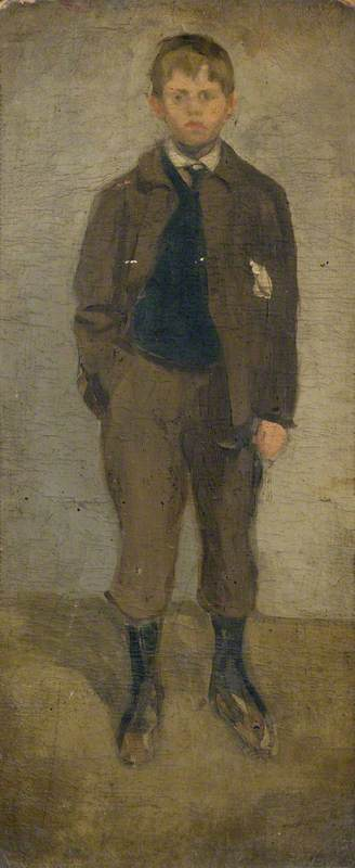 Robert (or Walter) Sickert as a Child