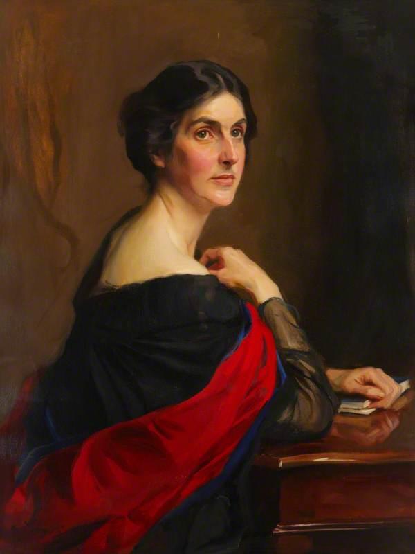 Bertha Phillpotts, DBC, MA, LHD, Principal of Westfield College (1919–1921)