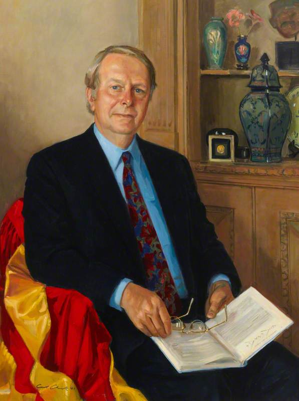 Professor I. Butterworth, CBE, FRS, Principal of Queen Mary College (1986–1990)