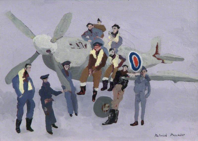 A Group of Polish Pilots