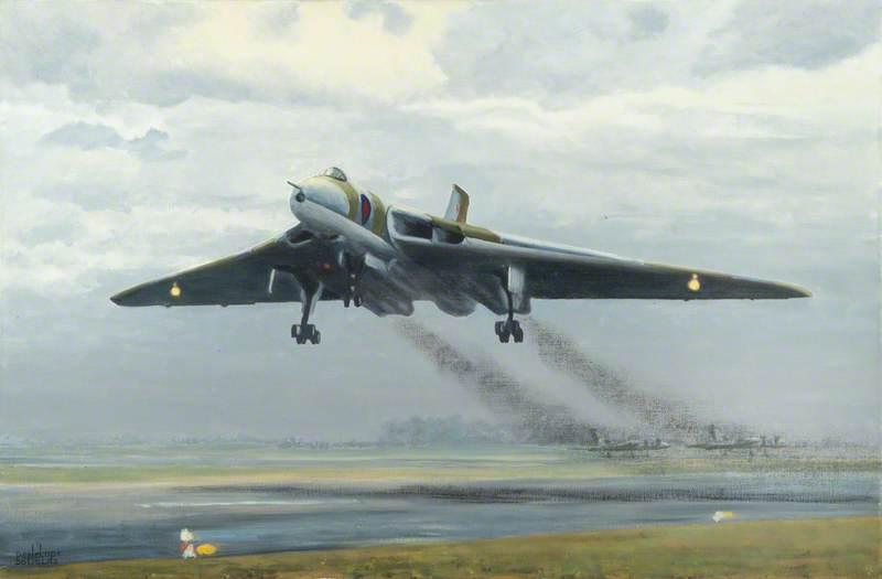 Vulcan B.2 Taking Off