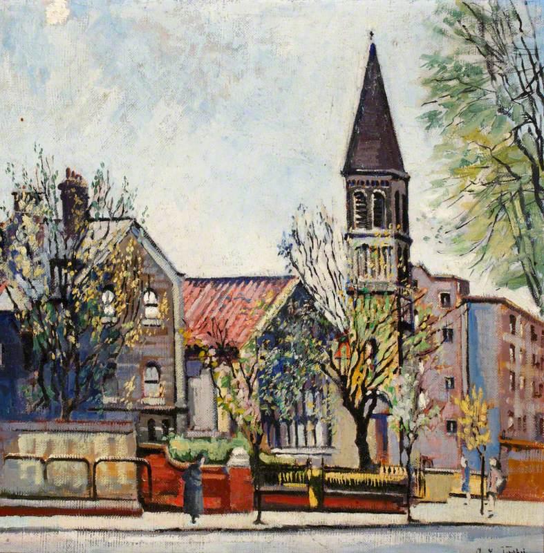 St James the Less Church, Bethnal Green