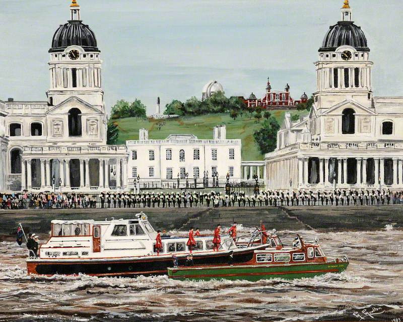 The Royal Salute, Greenwich and Police Commissioner Launch 'James Harriot'