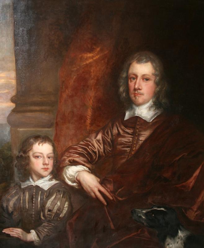 Sir Richard Fanshawe (1608–1666), with his son Richard Jr (1648–1659)