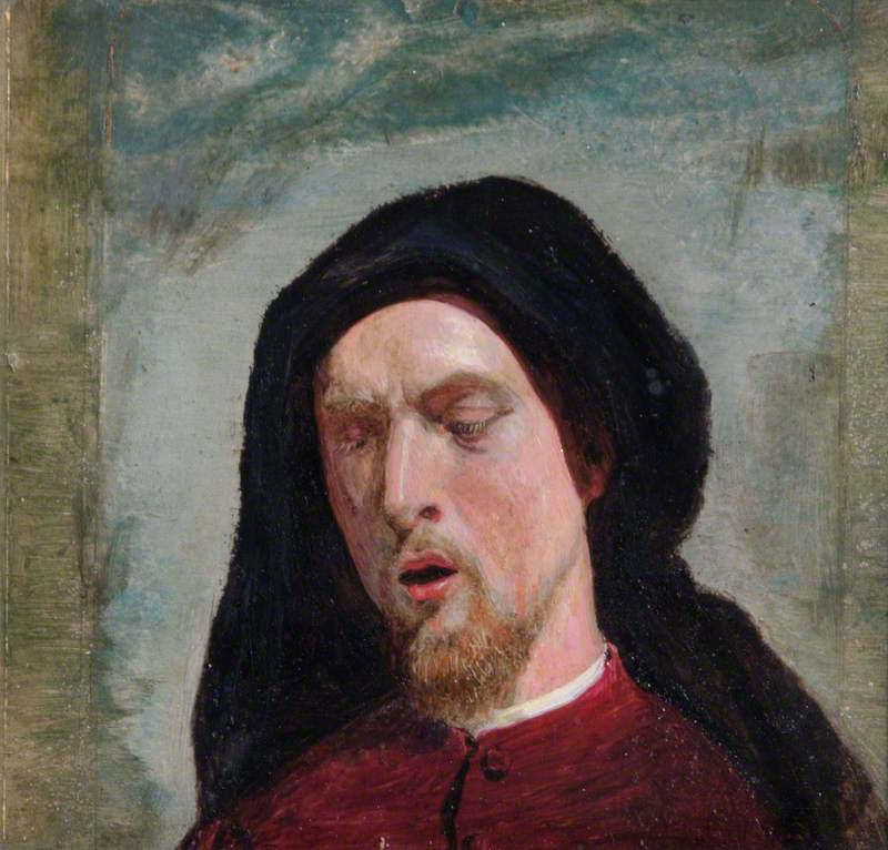 Study for the Head of Chaucer