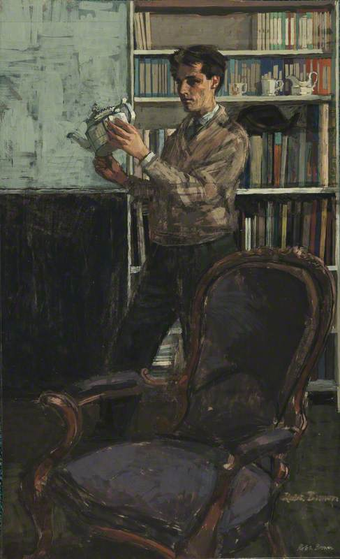 A Collector (Self Portrait)