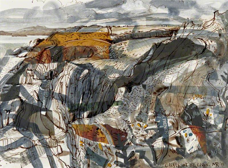 Cliffs at St Elvis