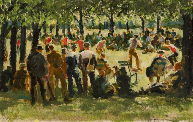 Americans in Hyde Park