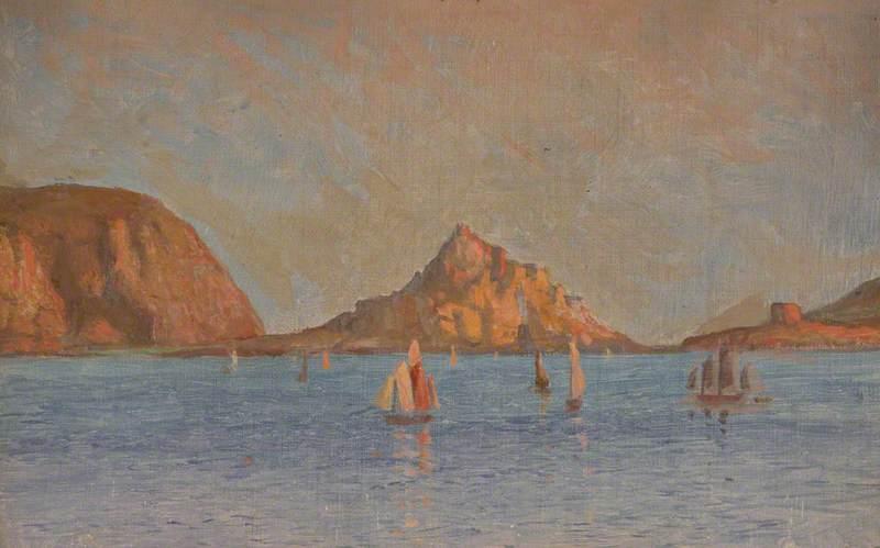 Sailing Boats in Bay