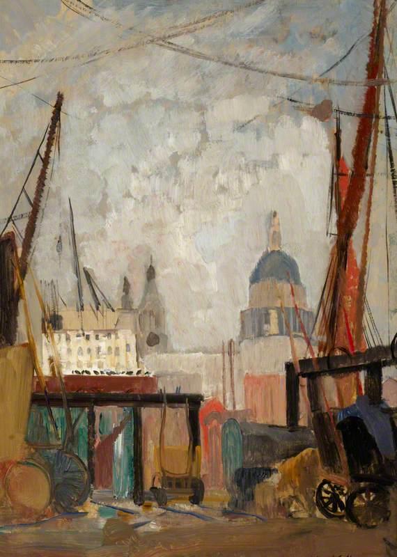 The Thames at Bankside