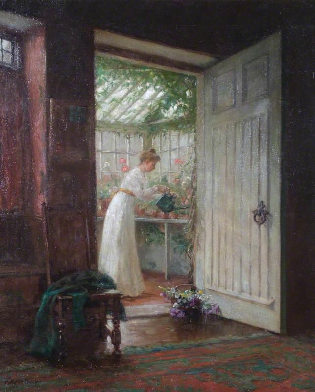 Watering the Garden Room
