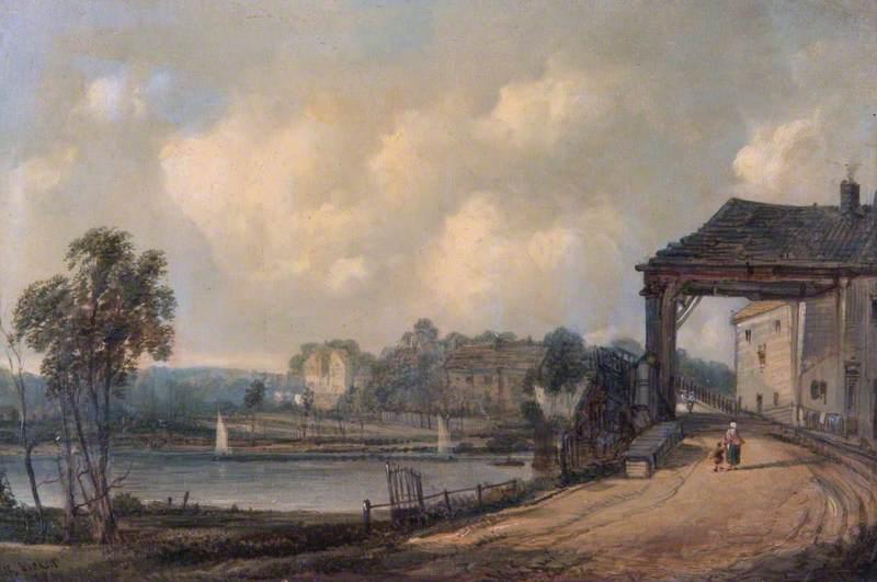 Hampton Court Bridge, Surrey