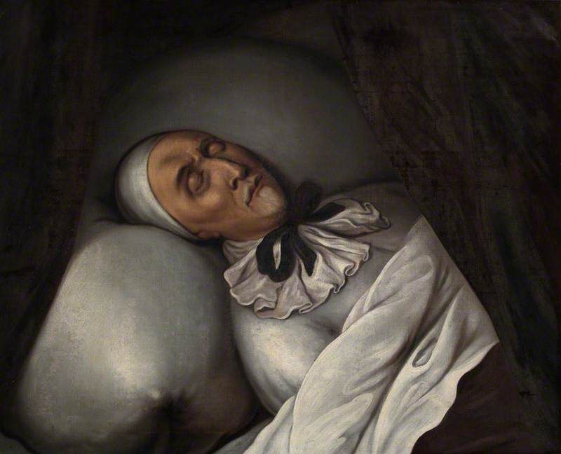 William Juxon (1582–1663), Archbishop of Canterbury, on His Death Bed