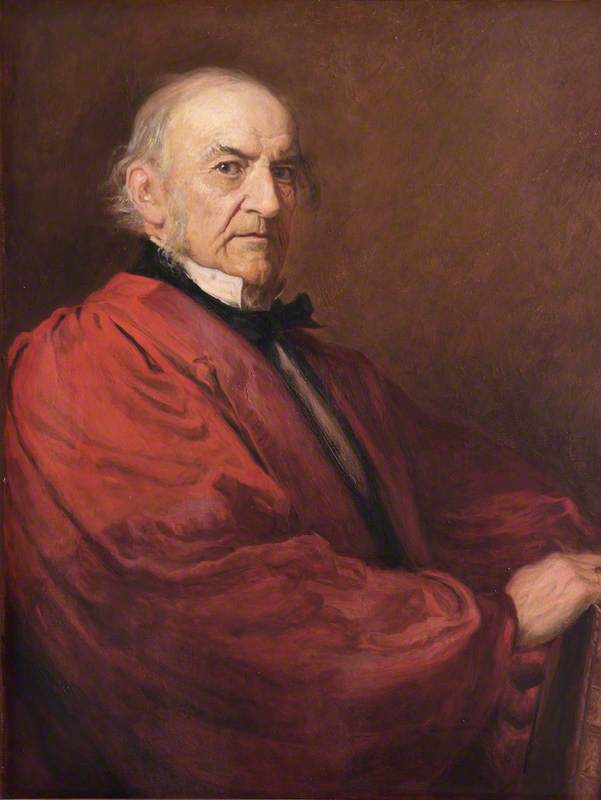 The Right Honourable William Gladstone (1809–1898)