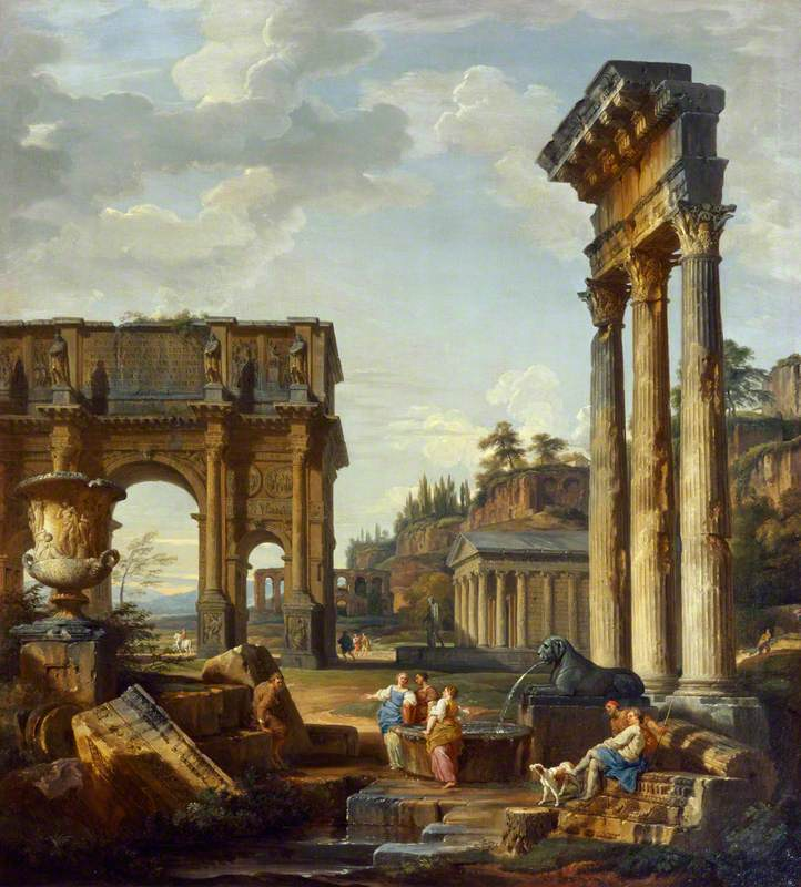 Landscape with the Arch of Constantine