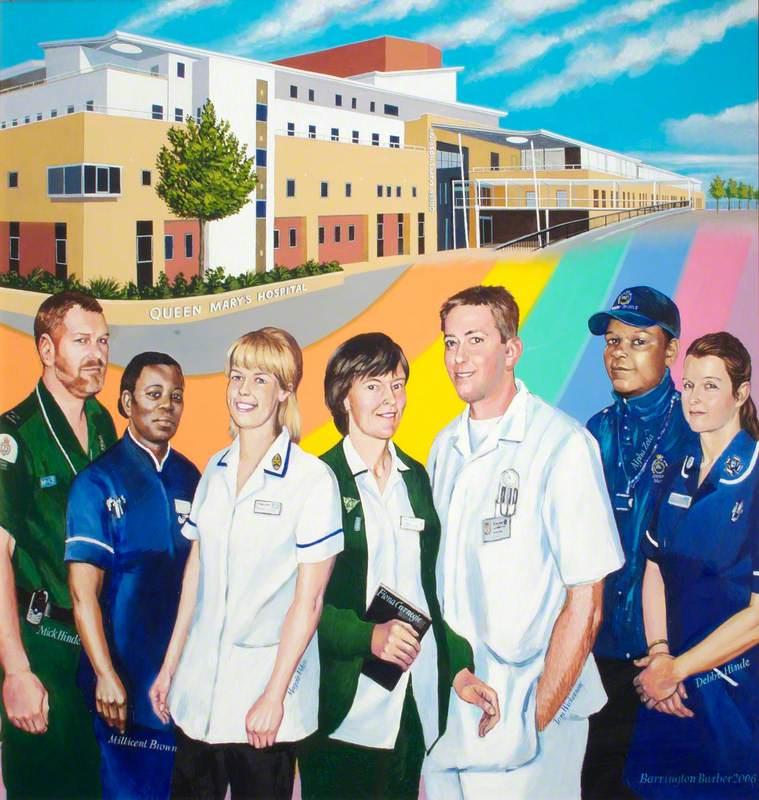 Hospital History Mural