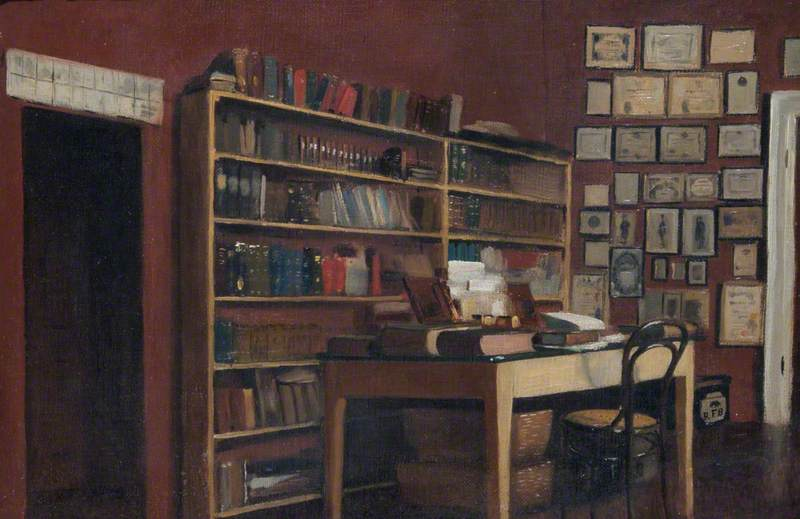 The Corner of Sir Richard Burton's Study