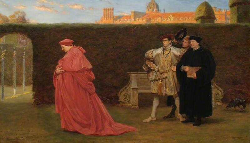 Cardinal Wolsey in Disgrace