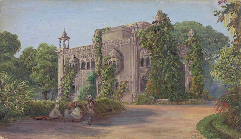Old Palace and Garden, Amritsar, Punjab, India