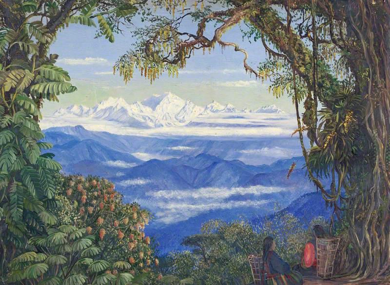 Mount Kanchenjunga from Darjeeling, West Bengal, India