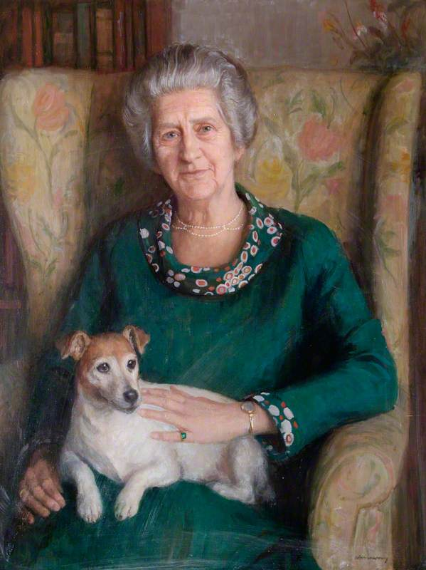 Dame Joyce Bishop (1896–1993), DBE, MA, Chairman of the Froebel Educational Institute (1962–1975)