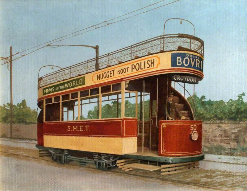 South Metropolitan Electric Tramway Tram No. 50