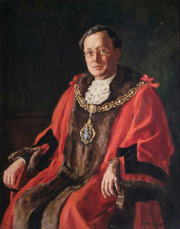 Sir Sidney Marshall (1882–1973), Mayor of Sutton and Cheam (1934–1935)