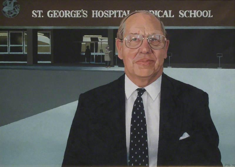 Mr Harry Axton, Chairman of St George's University