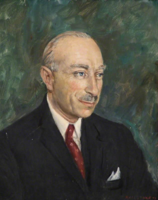 Portrait of a Balding Man