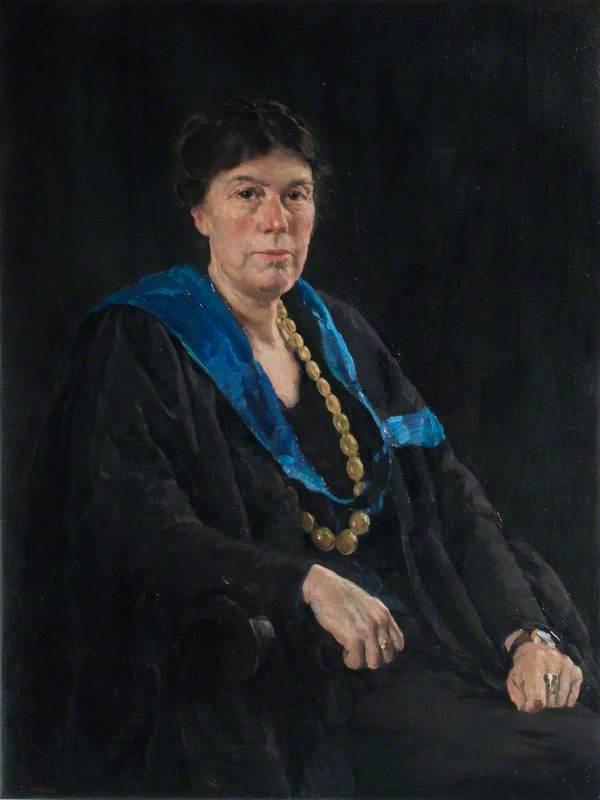 Miss Grace Fanner, MA, Headmistress at Mayfield (1907–1934)