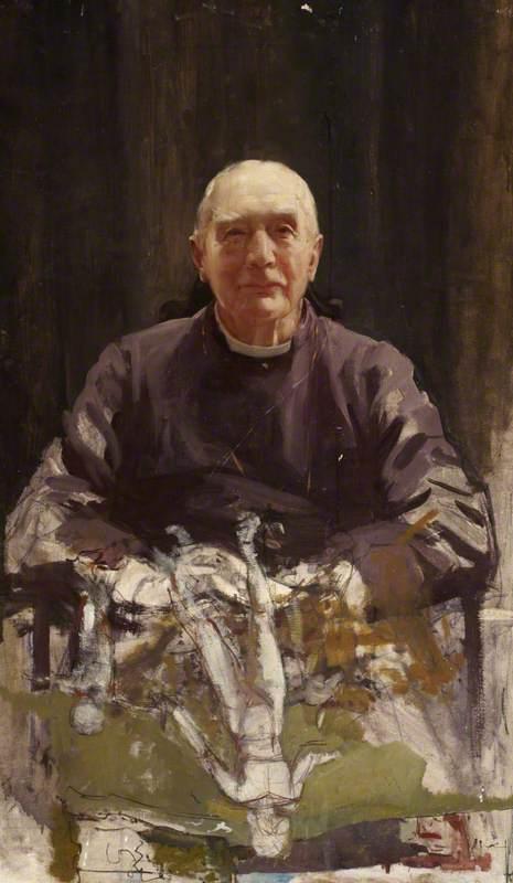 Study for 'Arthur Foley Winnington-Ingram (1858–1946), Bishop of London (1901–1939)'