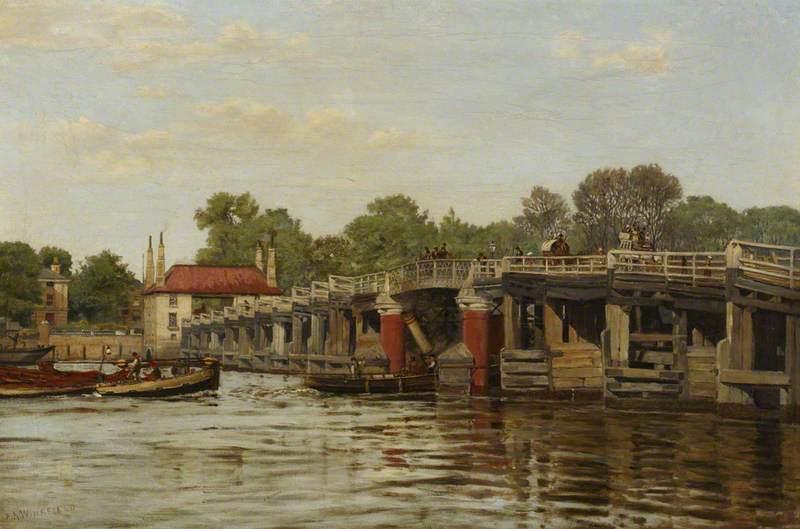Old Fulham Bridge (?)