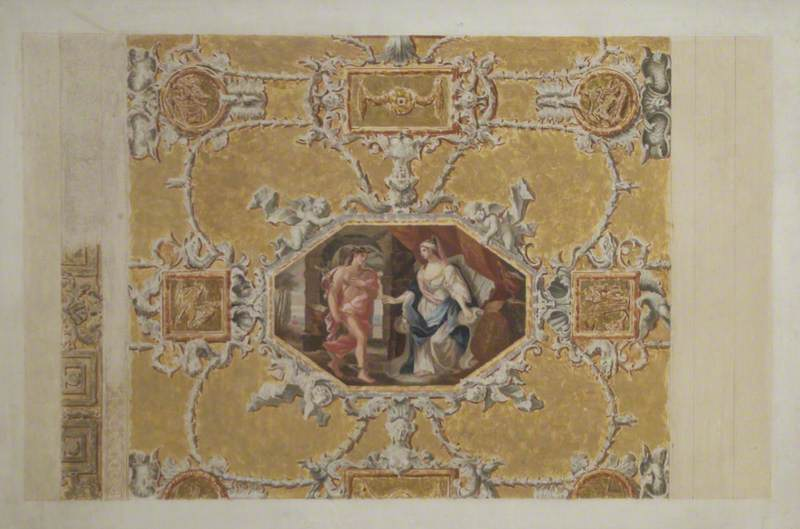 Ceiling Panel, King's Gallery, Kensington Palace