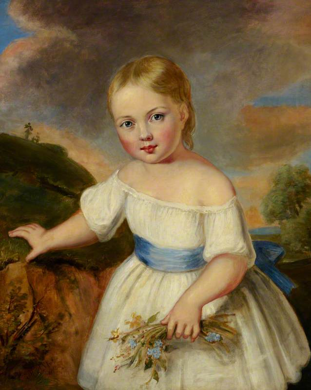 Queen Victoria (1819–1901), as a Child