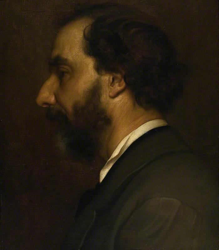 Professor Giovanni Costa (1826–1903)