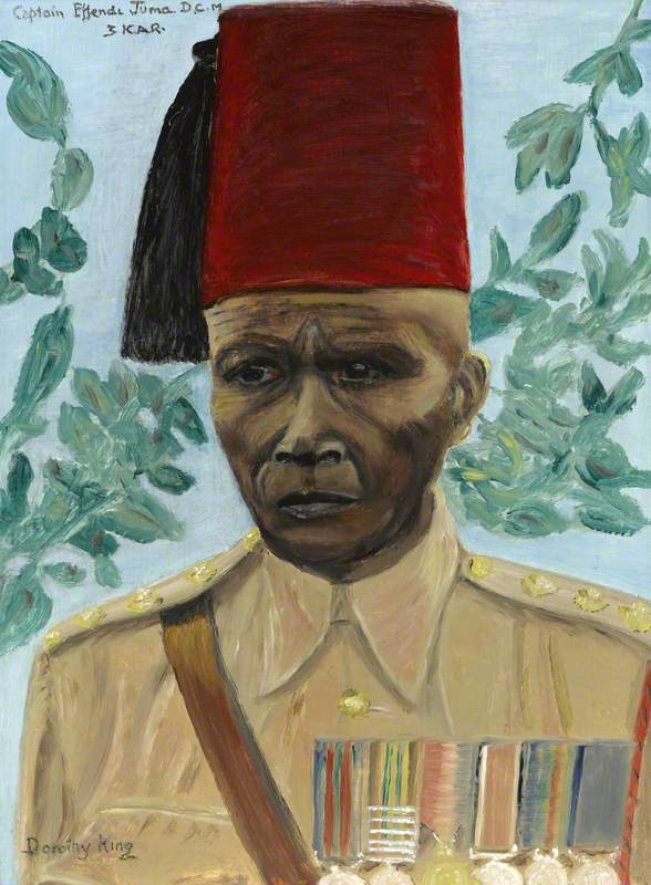 Captain Effendi Juma, 3rd Battalion, King's African Rifles