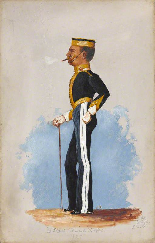 Lieutenant-Colonel Edward Napier, 6th Dragoon Guards (The Carabiniers)